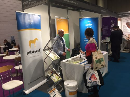 nimrod veterinary products exhibits at london vet show