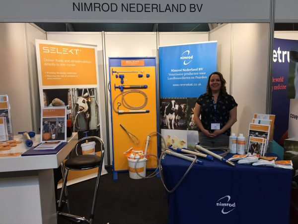 Emmy Jenson from Nimrod Nderland BV at European Bovine Congress 2019